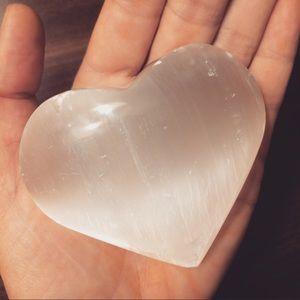 💜 Selenite Heart 💜